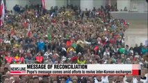Hopes for reconciliation ahead of papal visit, Liberation Day