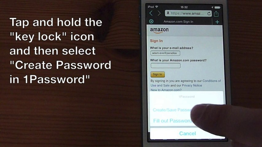 iCab Mobile and 1Password working together under iOS 8