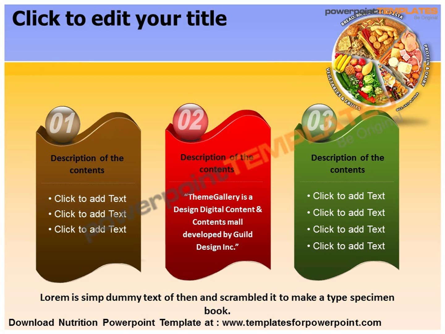 Nutrition Powerpoint Template Templates For Powerpoint Video Dailymotion