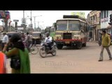 Traffic scene in Cuttack, Odisha