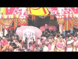 Deity being taken inside the Chariot - Chariot Festival