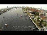 Chao Phraya River runs through the heart of Bangkok