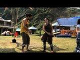 People dancing on electro dance music - Himalayan Music Festival