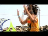 Young trance music lover headbanging to upbeat music - Himalayan Music Festival