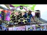 DJ Mash playing EDM or Electronic dance music in the Himalaya