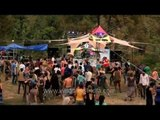 Outdoor electronic music festival at Dharamshala