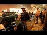 Traffic Madness at Delhi Airport Arrivals