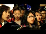 Amazing grace- Tangkhul choir Delhi at memorial service of Lt. Nido Tania