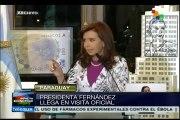 Encuentro en Asunción entre Cristina Fernández y Horacio Cartes