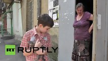 Ukraine: Meet the young boy caring for kittens in conflict torn Donetsk
