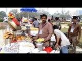 Dry fruit yukt chhole kachori of Delhi at National Street Food Festival, 3rd edition