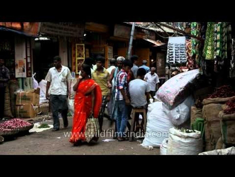 Kolkata: Brisk Business in Kolkata Market