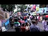 Crowd pandal hopping in Durga puja: Kolkata