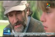 "Describe Steven Spielberg a Robin Williams como ""Tormena de luz"""