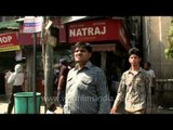NATRAJ- An old and famous shop of Dahi Bhalle Wala at Chandni Chowk