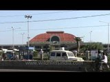 Chennai Mofussil Bus Terminus -  one of the largest bus terminus in Asia