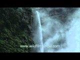 The secong highest water falls of India- Jog Falls