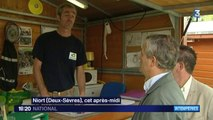 Deux-Sèvres : les pompiers en alerte contre les inondations et les vents violents