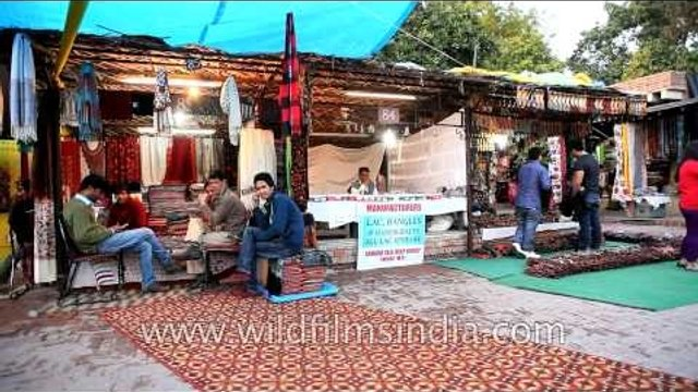 Dilli Haat is a hassle free shopping and dining zone for commoners