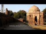 Wall mosque of the Wazirpur Group of Monuments in RK Puram, Delhi