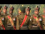 President's guard drill - Changing of Guard, Delhi