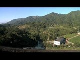 Doyang Hydroelectric power plant with a capacity of 75 Megawatts, Nagaland