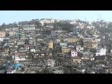 Tiny houses on the hilly capital of Nagaland - Kohima