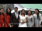 Big fat Christian wedding in Kohima, Nagaland