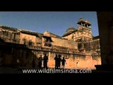 Ruins of the Amer fort of Jaipur