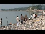 Cremation at Aghori cremation ground in Haridwar