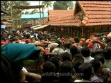 Waiting for stampede like disaster to strike - Crowded scene in Sabarimala