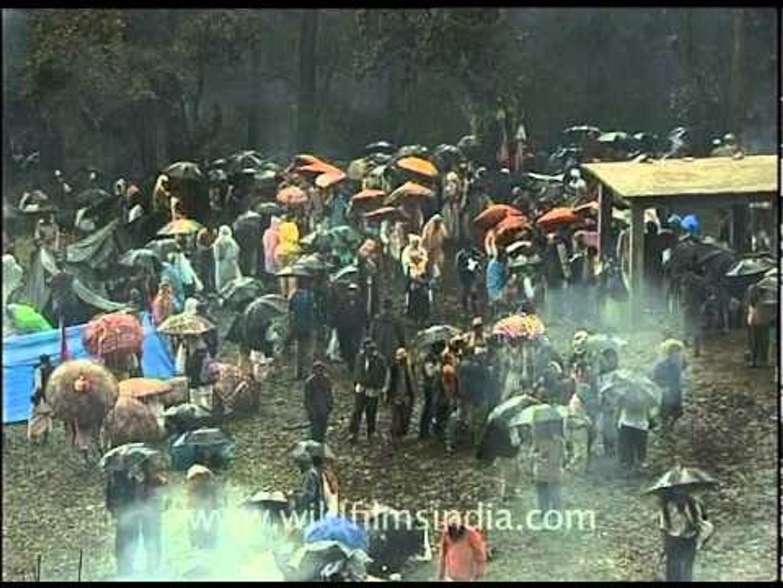 Tears of goddess Nanda Devi in the form of rain!