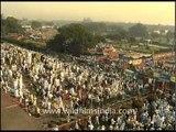 Namaz (Prayer) on Eid-ul-Fitr, Delhi