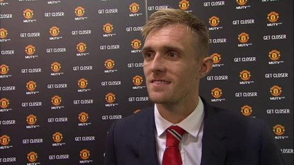 Darren Fletcher's Reaction To Being Named Manchester United Vice-Captain By Louis van Gaal