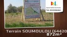 A vendre - Terrain - SOUMOULOU (64420) - 872m²