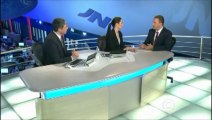 Eduardo Campos é entrevistado no Jornal Nacional