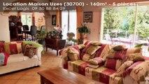 A louer - Maison/villa - Uzes (30700) - 5 pièces - 160m²