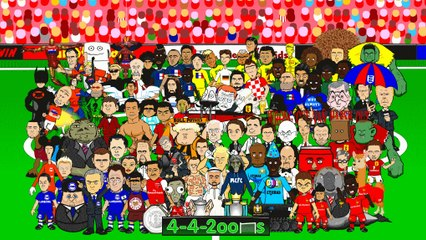 Premier League 2014/2015 NEW SEASON by 442oons (EPL football cartoon)