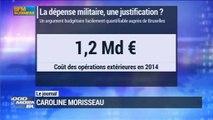 Budget 2015 : Les dépenses militaires ont coûté 1.2 milliard d'euros en 2014