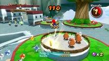 Super Mario Galaxy 2 - Monde 1 - Terrasse des Rigolonimbus : Du rififi sur les terrasses