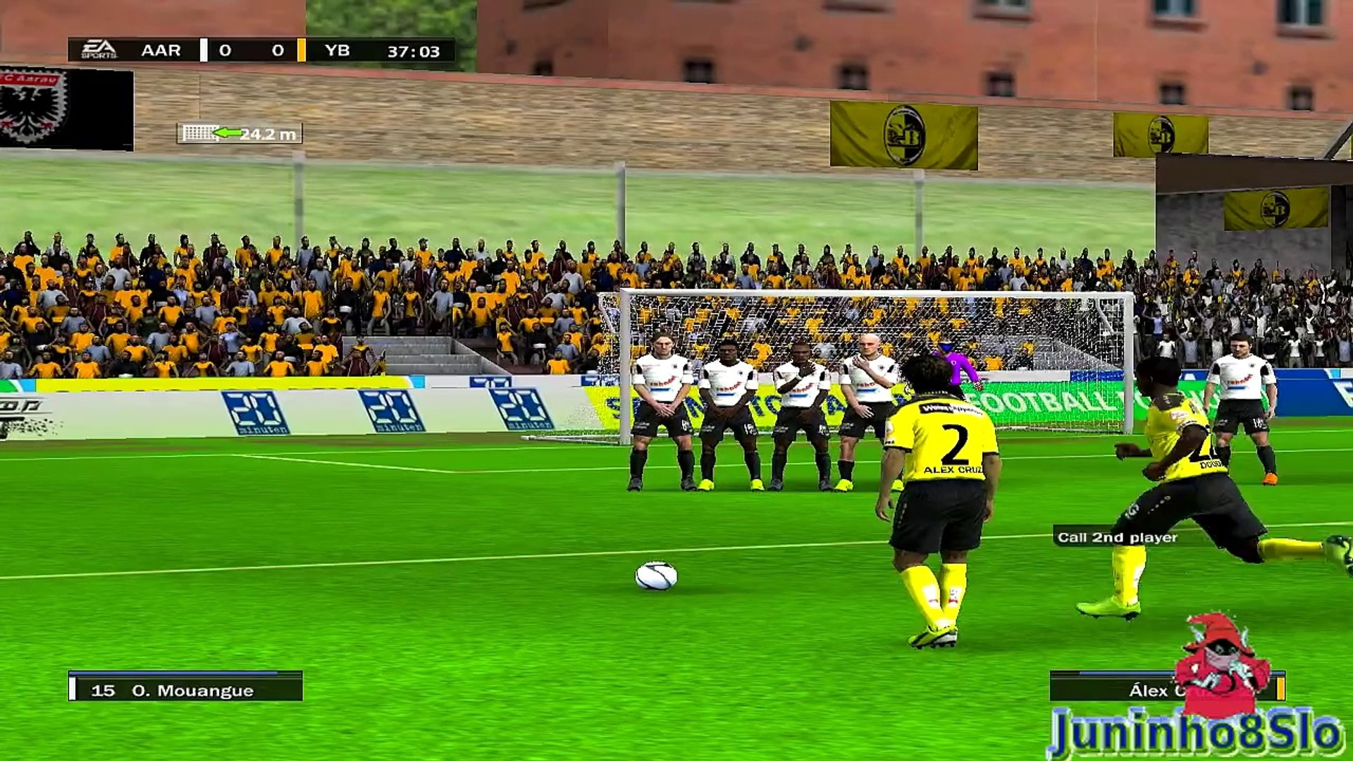 Fifa 10-Manager Mode-FC Aarau vs BSC Young Boys-Game 6
