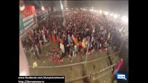 Aerial View of PAT's Rally in Faislabad 12 October 2014