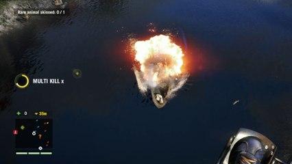 Farcry 4 , Pêche à l'explosif