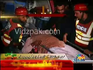 Imran Khan should look at his right & left, will find those responsible for Multan tragedy :- Pervaiz Rasheed