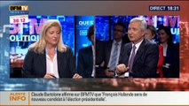 BFM Politique: L'interview BFM Business de Claude Bartolone par Hedwige Chevrillon – 12/10 (2/6)