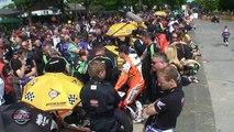 Le Tourist Trophy, les jeux du cirque  ( video contenu officiel moto journal )
