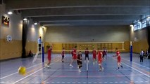 2014/2015 - VOLLEYBALL R1MB IDF - Paris AC 2 vs ASNIERES 3
