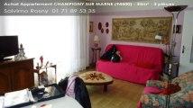 A vendre - appartement - CHAMPIGNY SUR MARNE (94500) - 3 pièces - 55m²