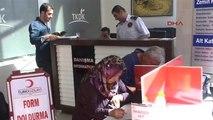 Muş'ta Kızılay Kan Bağış Çağrısı Yapıyor