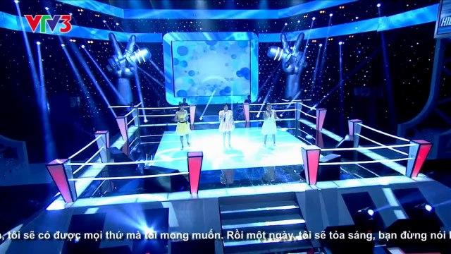 Vòng đối đầu - One Day - Linh Lan vs Phương Nhi vs Tuyết Lan -  Giọng hát Việt Nhí 2013 - m.thuymien.com